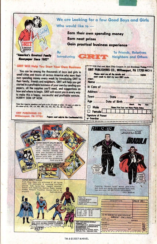 Captain America (1968) Issue #256 #171 - English 27