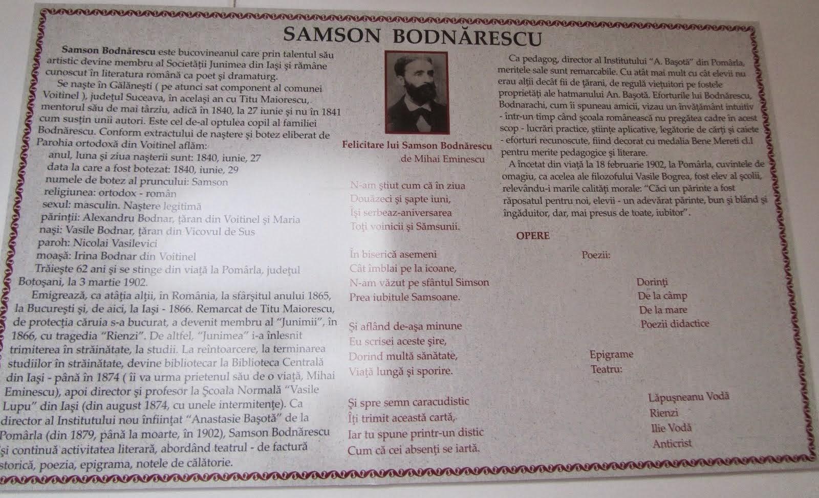 SAMSON BODNARESCU