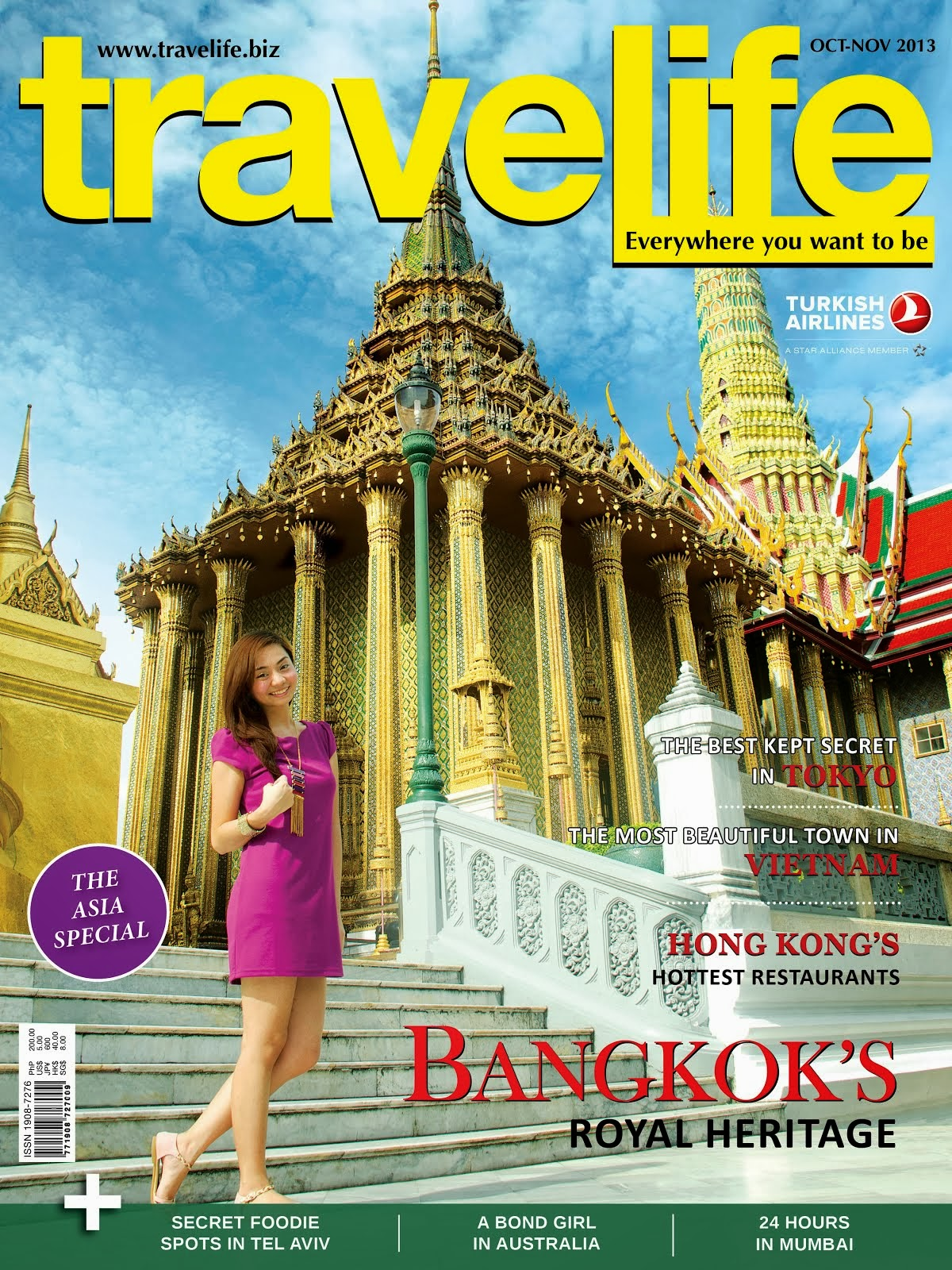 TRAVELIFE'S OCT-NOV 2013 ISSUE