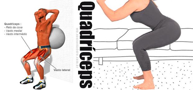 #6 Malhando em casa: meus exercícios - Quadriceps