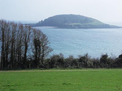 St George's Island or Looe Island Cornwall