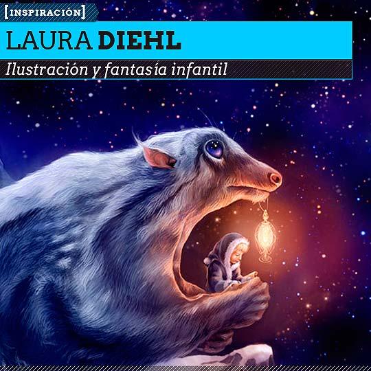 Ilustración infantil de LAURA DIEHL