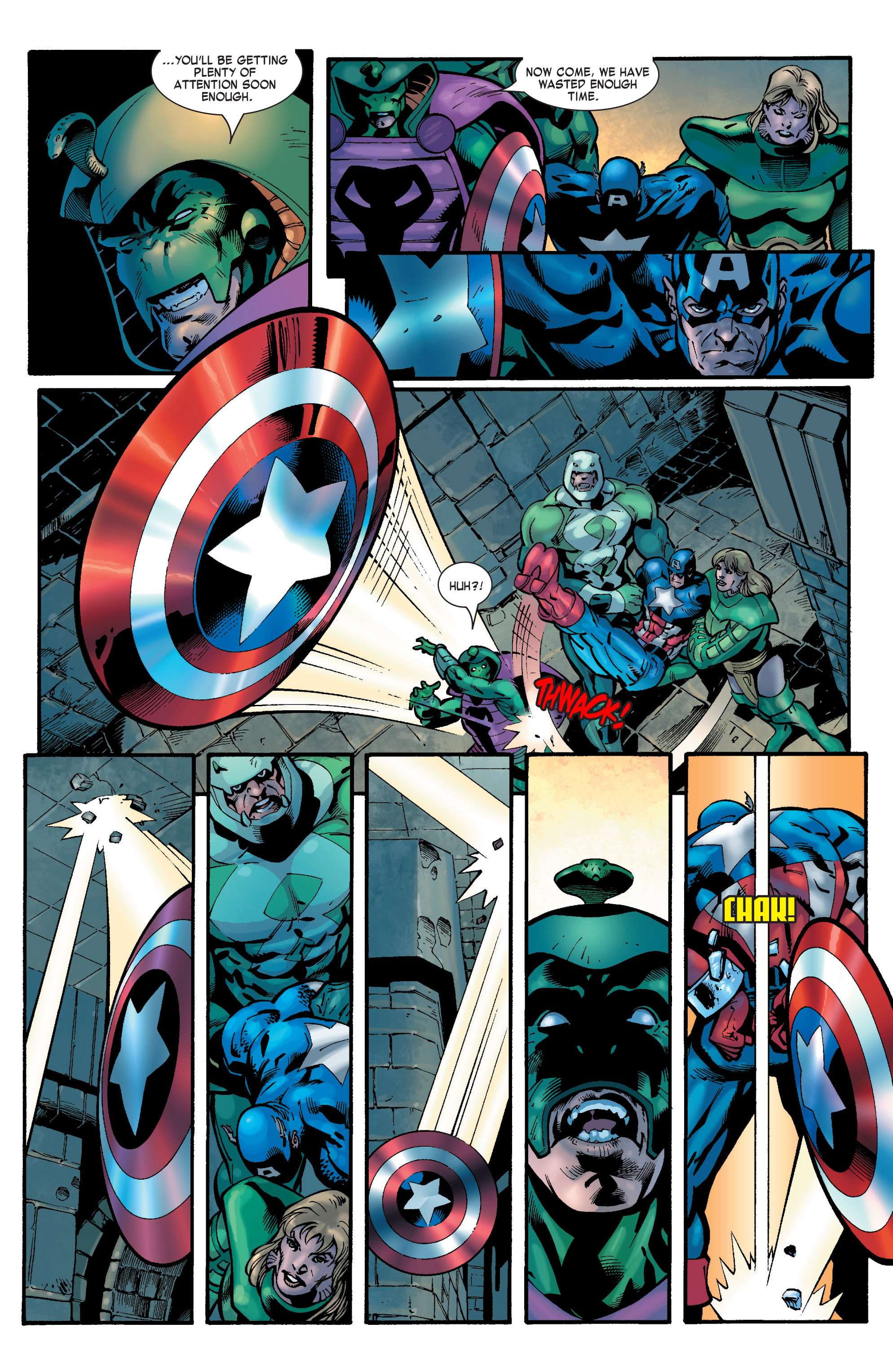 Captain America (2002) Issue #31 #32 - English 6