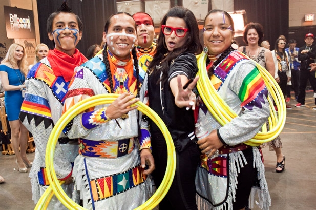 White Wolf : Nelly Furtado among awardees at Native American Music ...