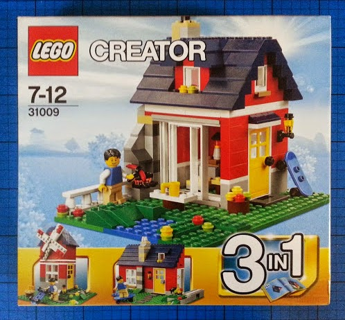 LEGO Creator set 31009 Small Cottage 3 in 1