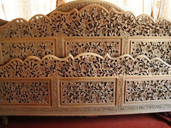 Handicrafts Of India Wood Work Kashmiri Handicraft