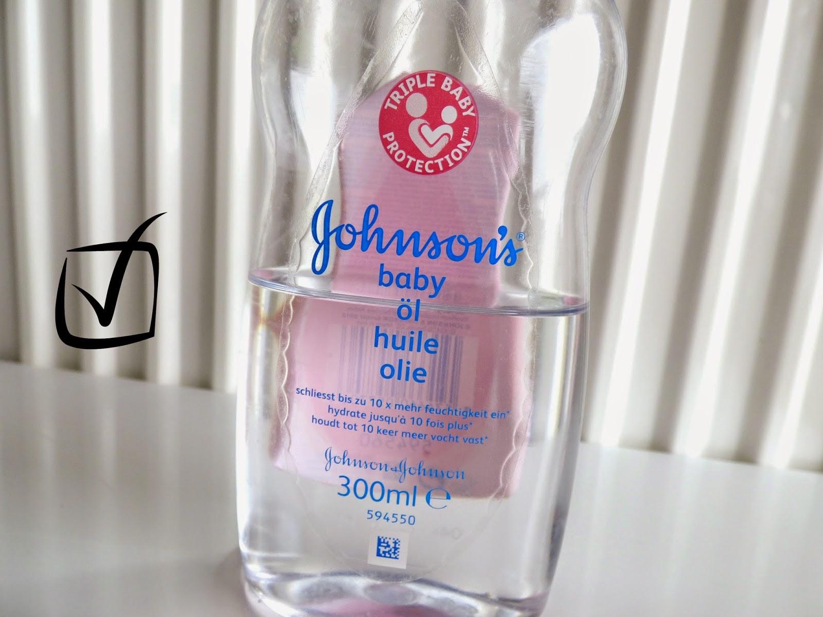 Huile pour bébé de Johnson's