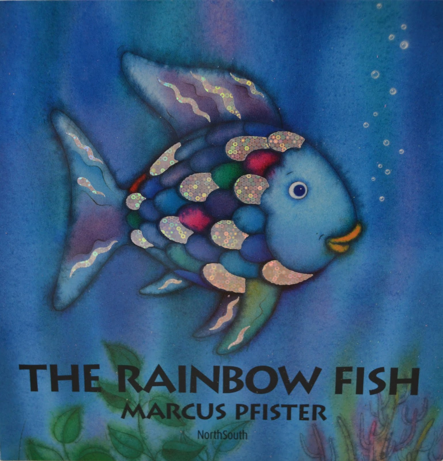 The rainbow fish book activities crafts and snack ideas for The rainbow fish