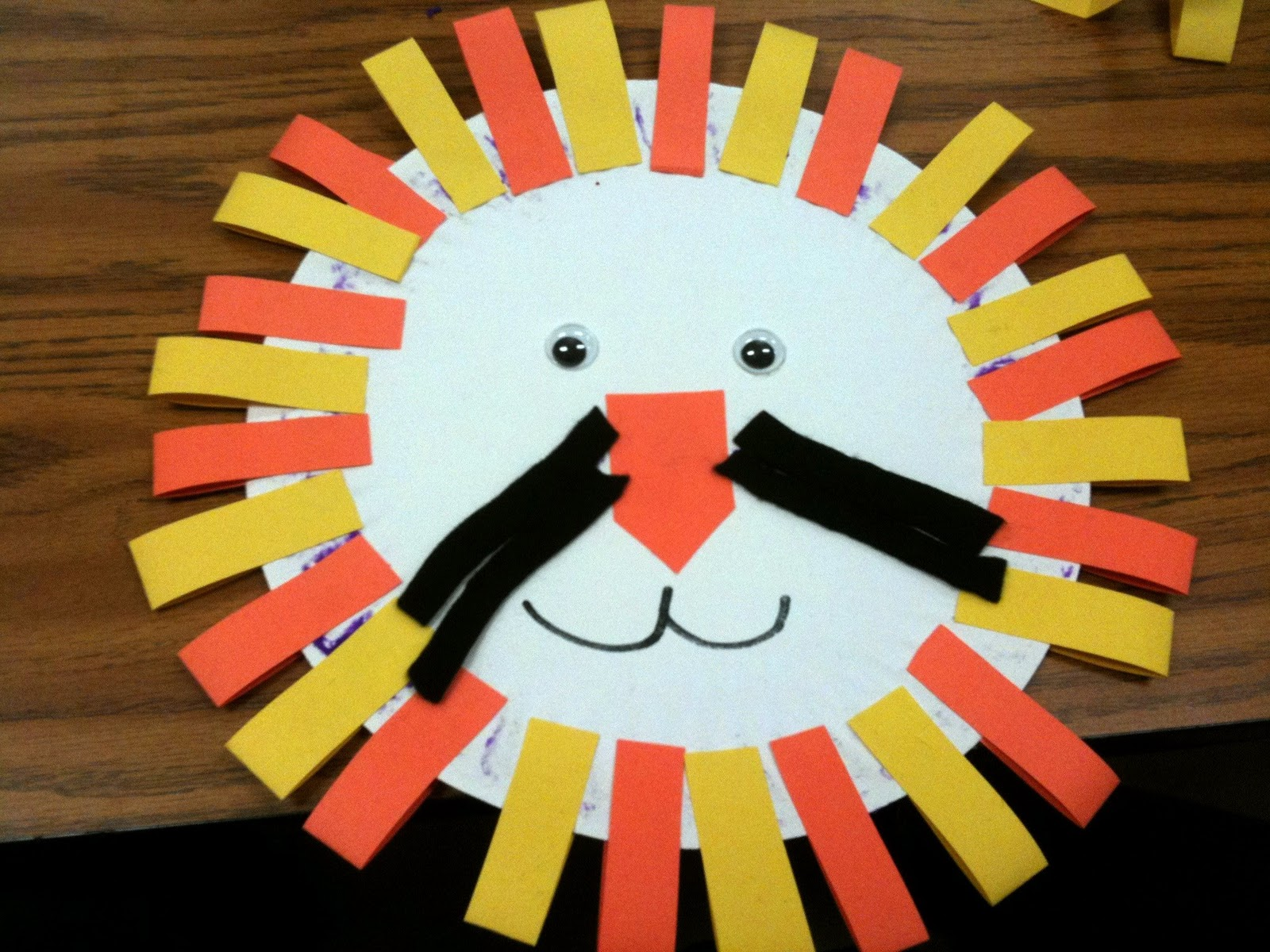 Lion craft with paper plate | Helen\u0027s Art and Crafts & Lion craft with paper plate | Helen\u0027s Art and Crafts | Free Wallpaper
