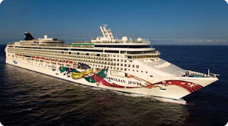 Norwegian Cruise Line's Norwegian Jewel Makes an Unexpected stop In Norfolk Virginia
