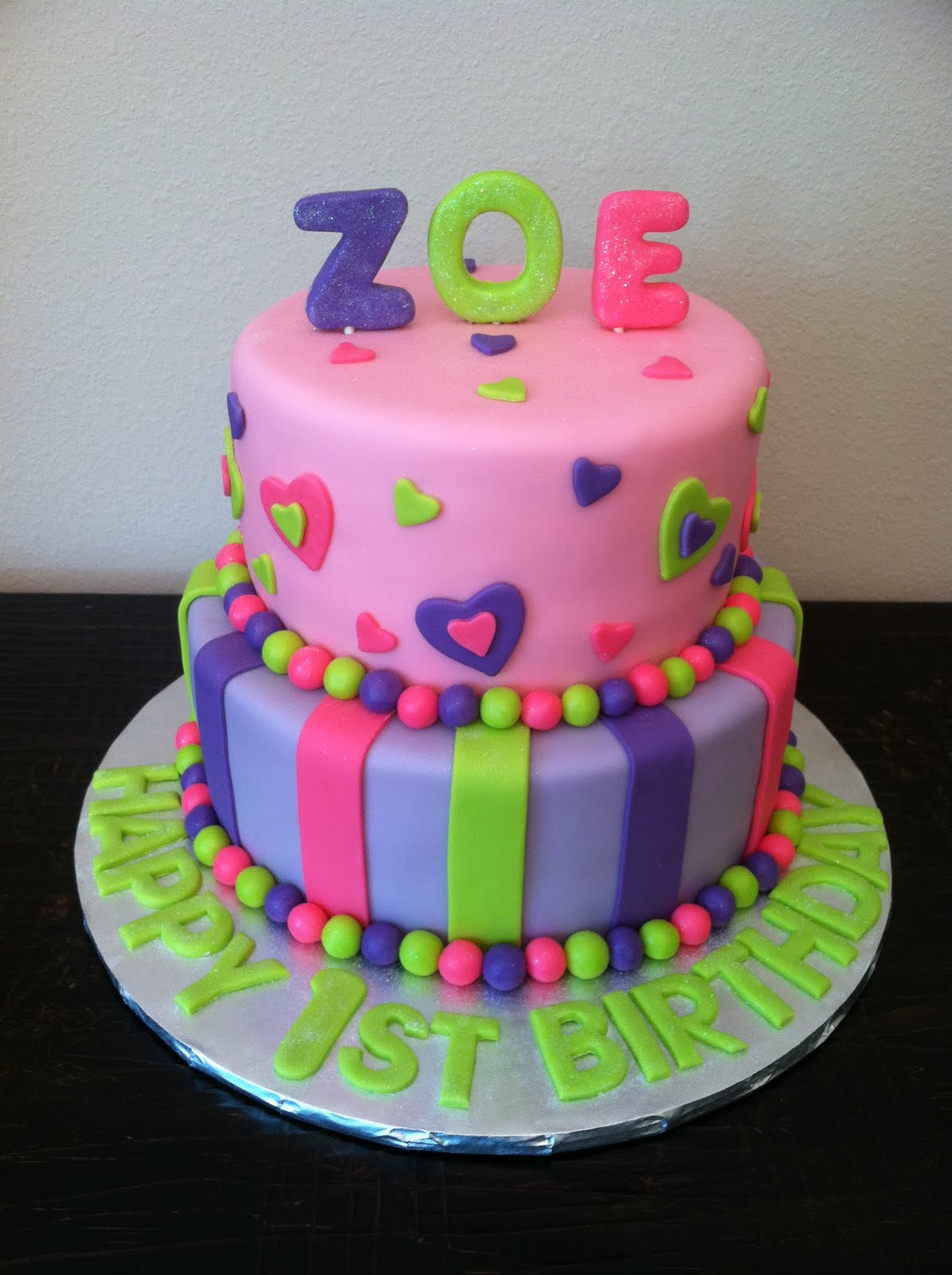 Sweet Melissas Zoes 1st Birthday
