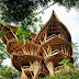 She Creates Extravagant Tropical Paradises Made Only From Bamboo, Just Check Out The Inside.