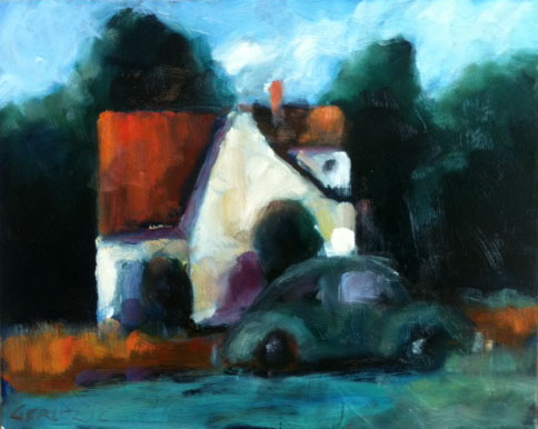 House with VW #1