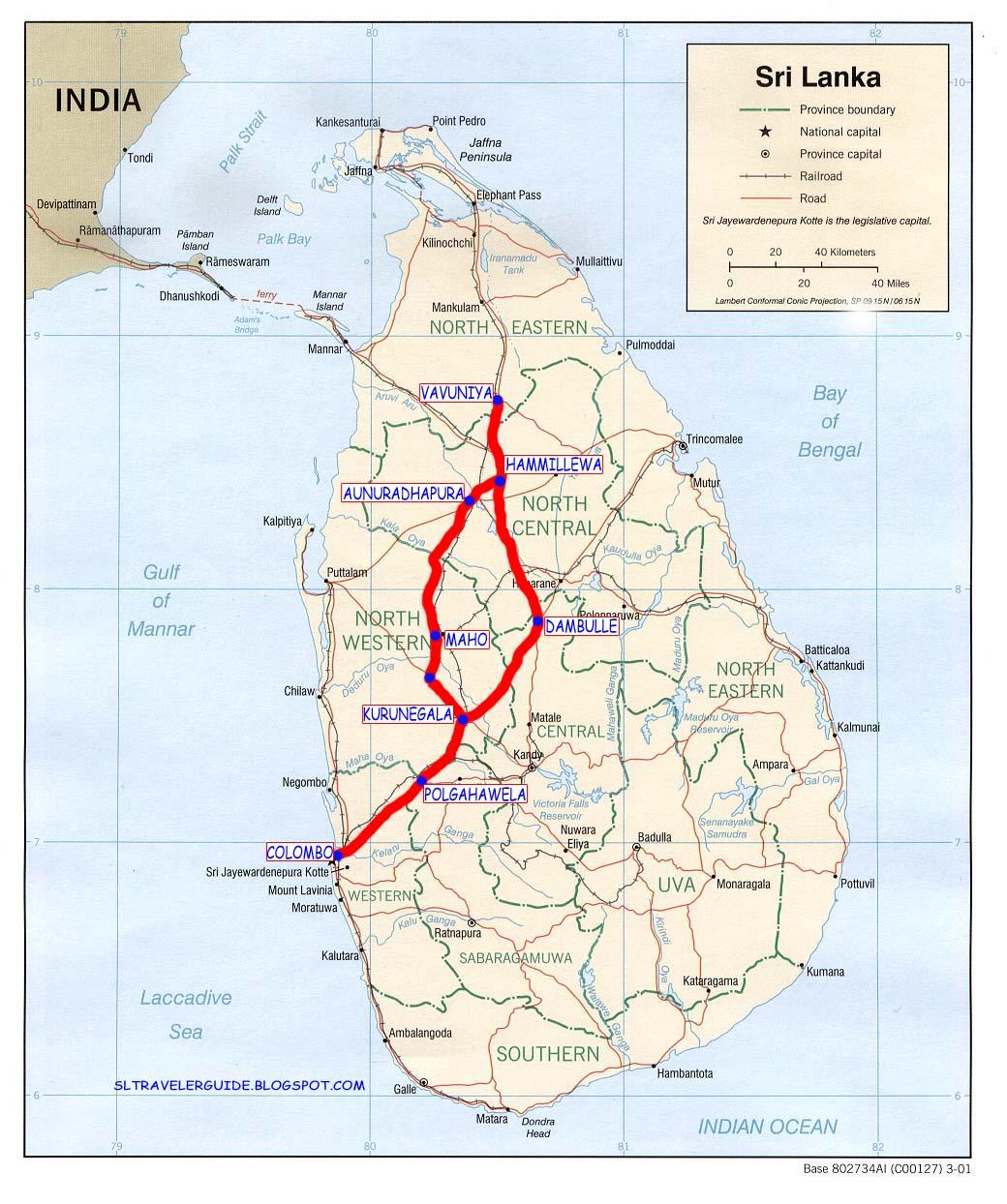 Vavuniya Sri Lanka  city photos gallery : Sri Lanka Travel Guide, best places, maps & all details: VAVUNIYA ...