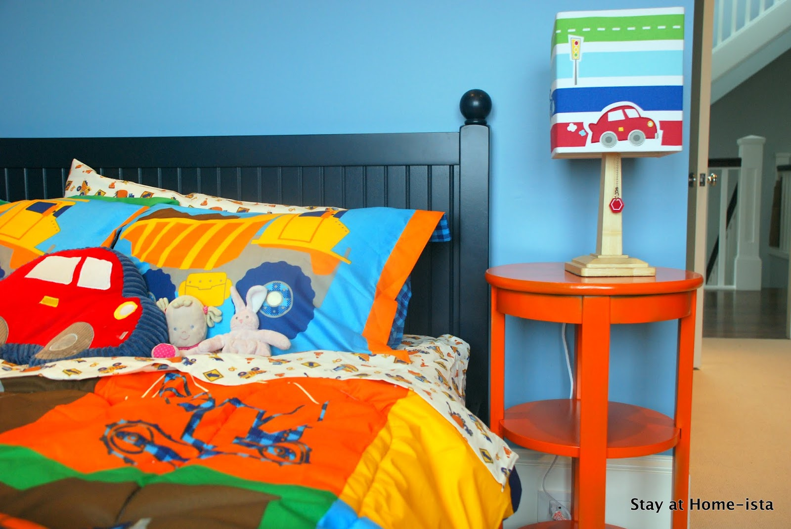 Stay at Home-ista: Construction Truck Bedding Boys Construction Bedroom Decorating Ideas on boys bedroom painting ideas, toddler boy bedroom ideas, teen boys bedroom ideas, boys' bedroom paint color ideas, small bedroom paint color ideas, cool little boys room ideas, cool boys bedroom ideas, country sampler decorating ideas, small boys bedroom ideas, boys bedroom decor, rustic country decorating ideas, boys room paint ideas, boys spiderman bedroom ideas, boys bedroom themes and ideas, little boy bedroom ideas,