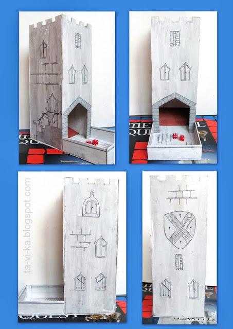 башня для кубиков