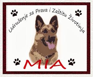 """Organizacija za Prava i Zaštitu Životinja """" M I A """"  Kontakt 061 21 00 128"""