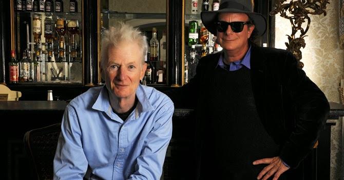 Peter Hammill y Gary Lucas en el Teatro de la Ciudad Esperanza Iris