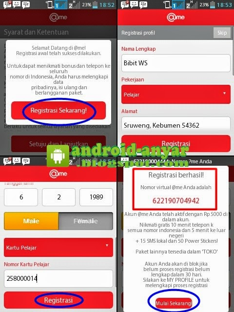 Cara daftar atme untuk telpon gratis ke semua operator se-Indonesia