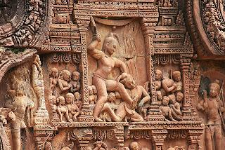Banteay+Srei 10 Kuil Hindu Paling Indah di Dunia