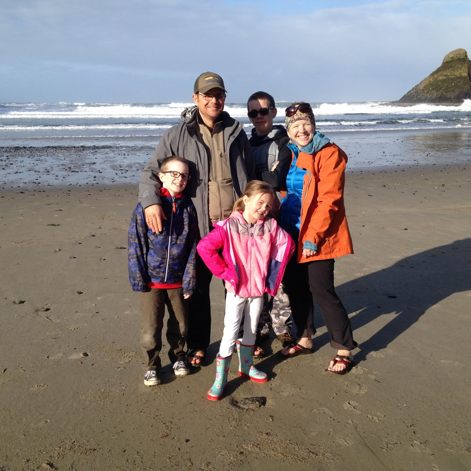 Spring Break with Cousins Oregon Coast 2016