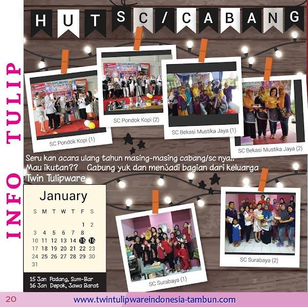 Info Tulip : HUT 2016