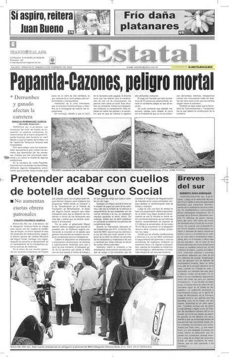 Sección Estatal Diario de Xalapa