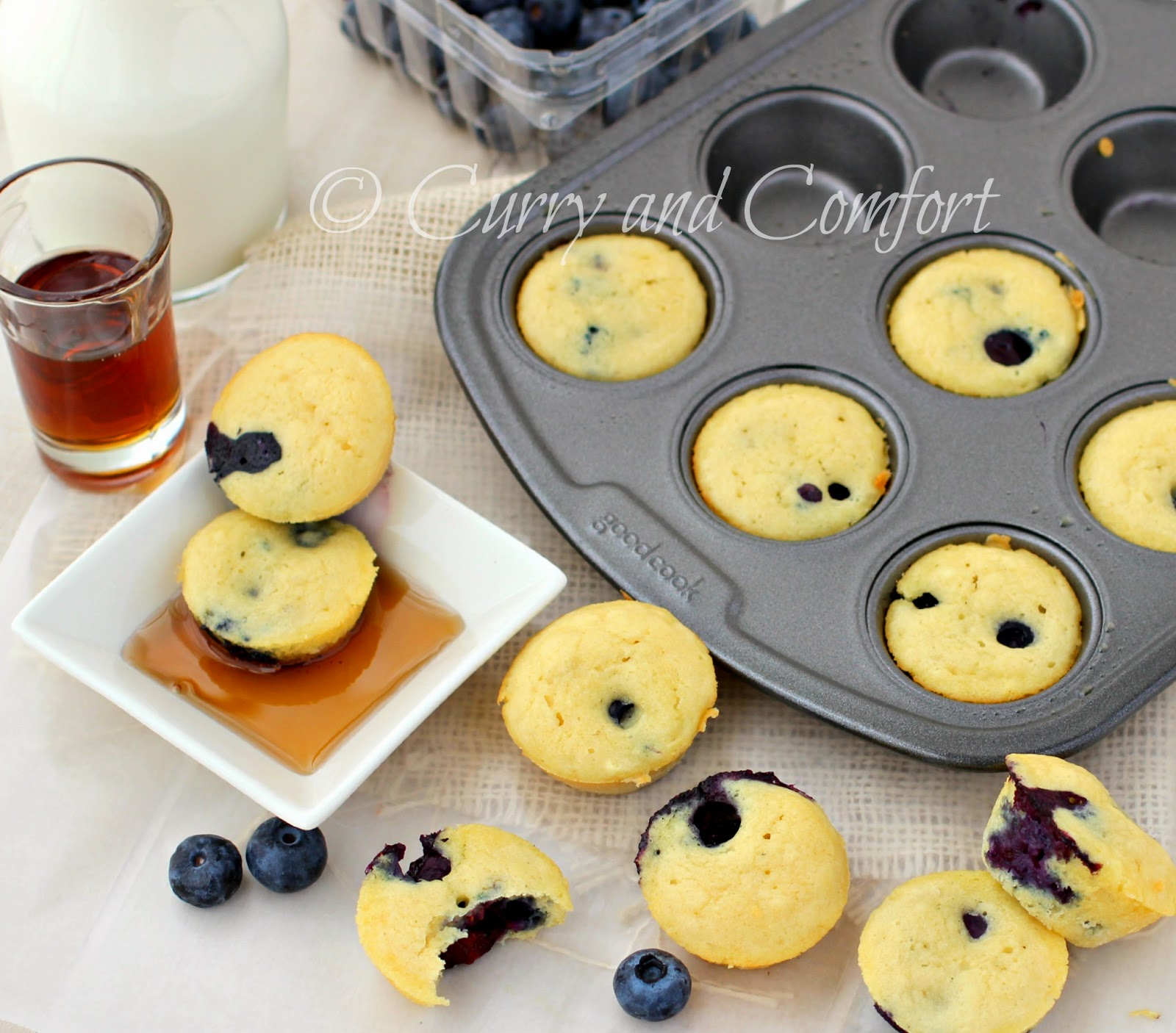 how to make mini pancakes in the oven