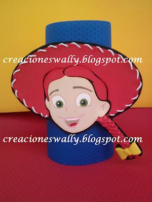 Cubiertas de botellones, Jessie La Vaquerita