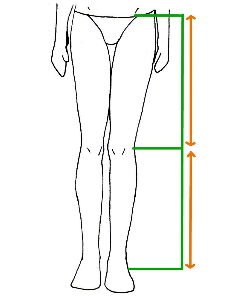 photo comment dessiner des jambes de fille