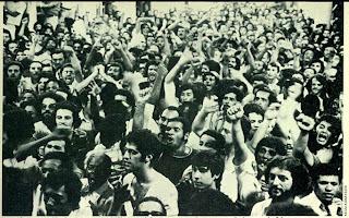 Greve dos metalúrgicos do ABC paulista em 1978