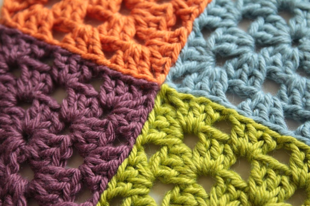 How To Crochet Granny Stitch