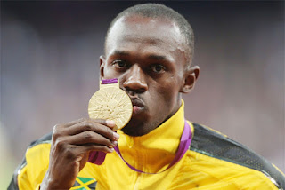 Usain Bolt won gold medal in world Athlets