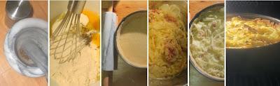 Zubereitung Schwäbischer Zwiebelkuchen