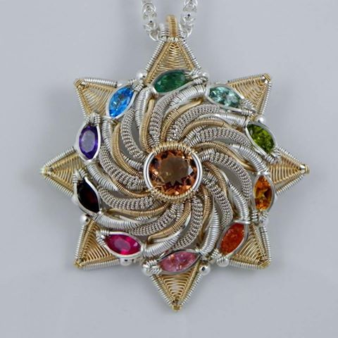Amazing Wire Wrapped Jewelry By Wire Dreamers The
