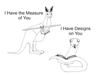 Design to Fit ebook Sir Pent snake cartoon Kangarule Kangaroo