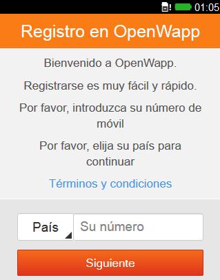 Instalar WhatsApp en Firefox OS