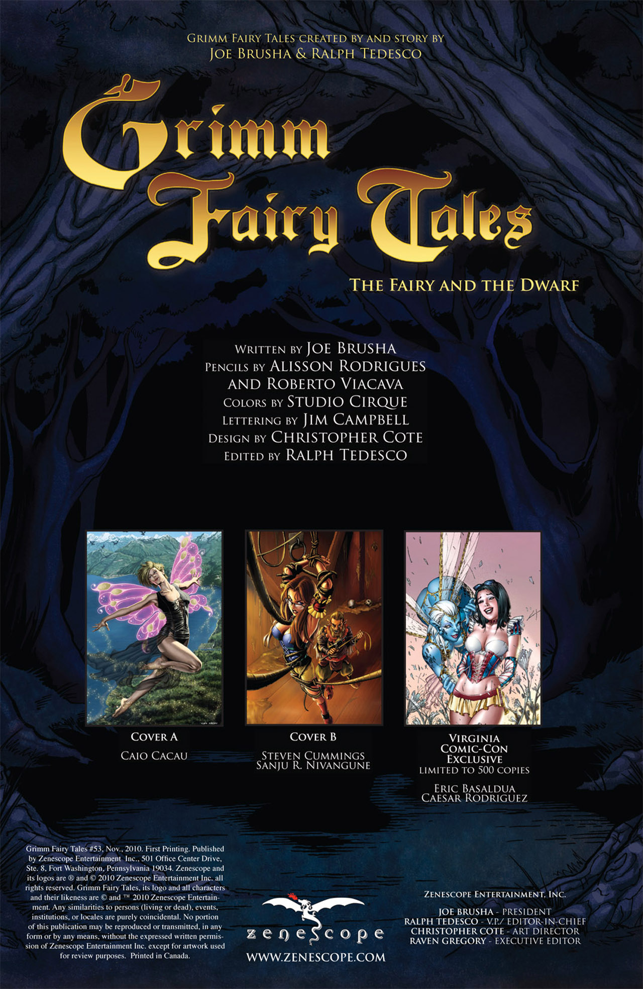 Grimm Fairy Tales (2005) Issue #53 #56 - English 2
