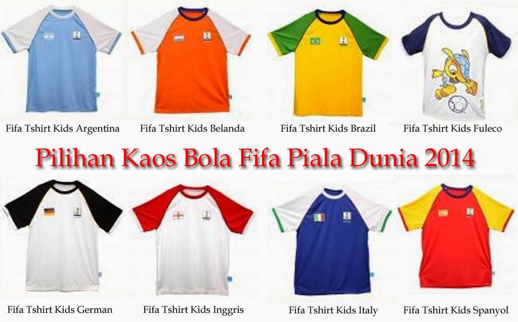 Kaos Bola Alfamart Fifa piala Dunia brazil 2014
