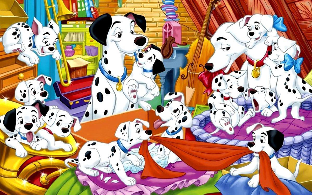 101 Dalmatians Cartoon Picture 2