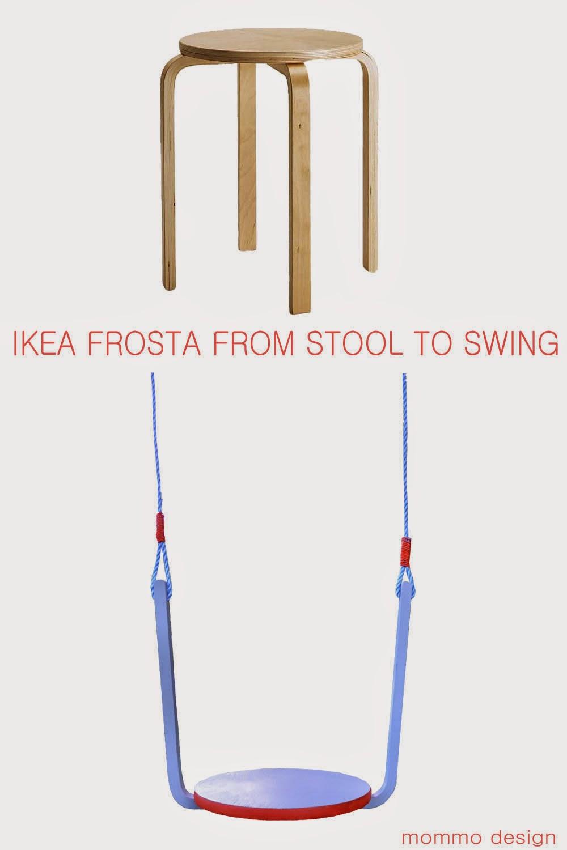 Mommo design frosta swing for Ikea altalena