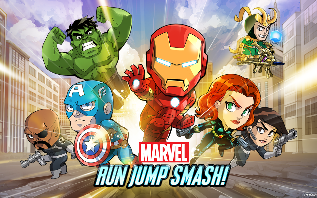 Marvel Run Jump Smash! Android Game Download,