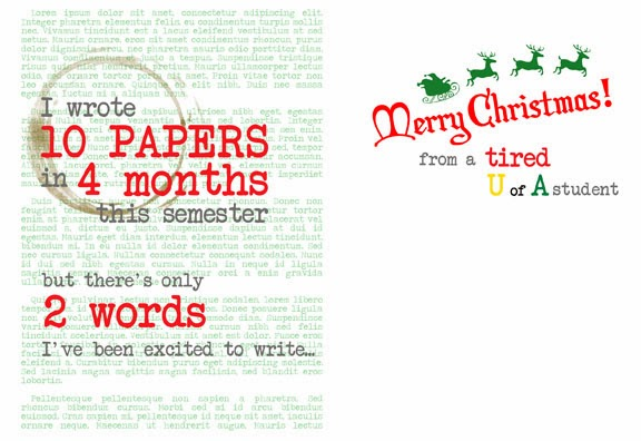 Student Christmas Cards