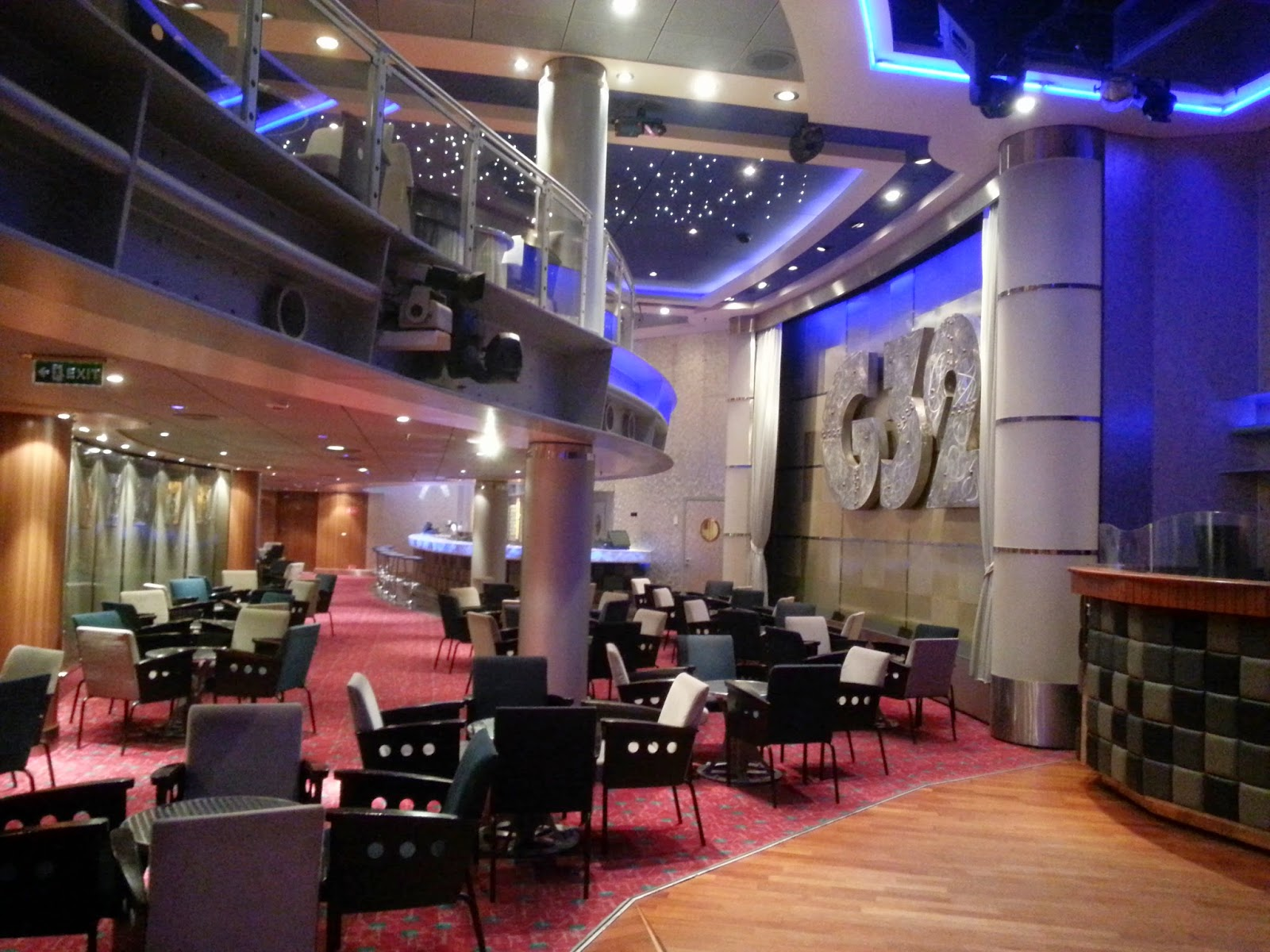 Queen Mary 2 (QM2) - G32 Nightclub