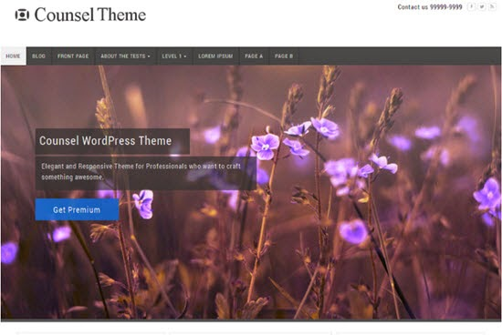 Counsel WordPress theme