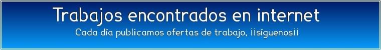 Publicación de trabajos para toda España