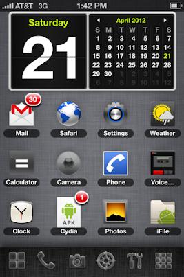 SmartBoard Theme Calendar