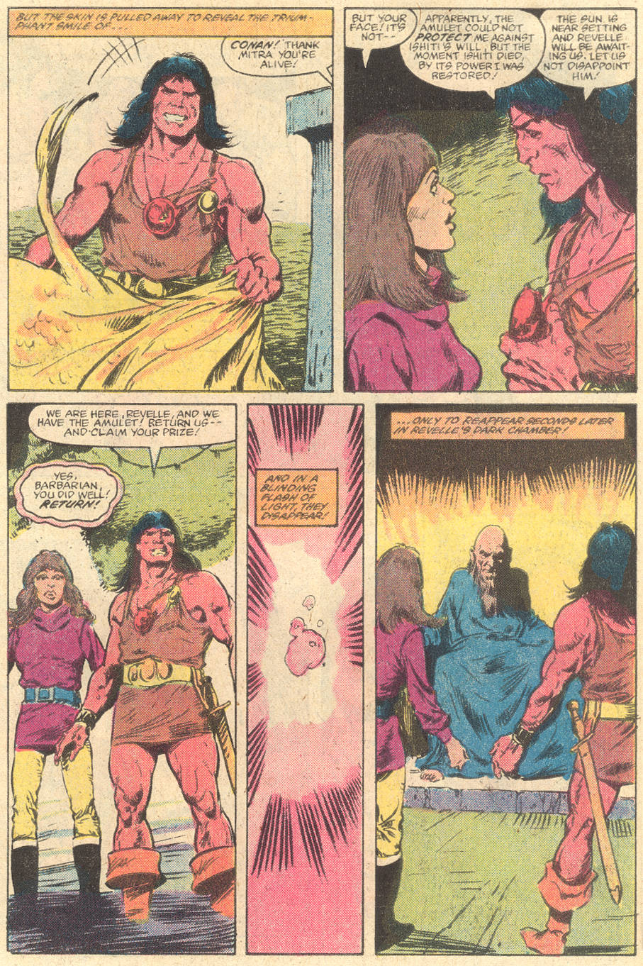 Conan the Barbarian (1970) Issue #139 #151 - English 20