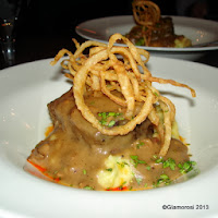 Pork, Bacon and Beef Meatloaf at Serrano in Philadelphia PA
