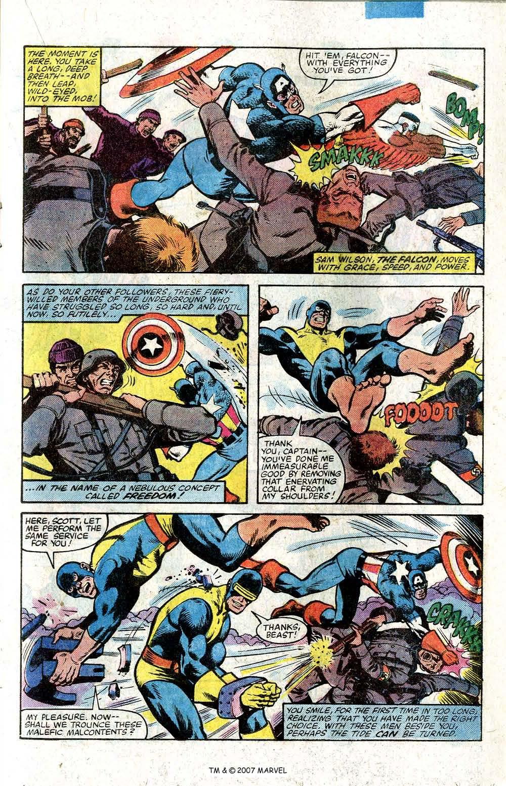 Captain America (1968) Issue #264 #179 - English 17